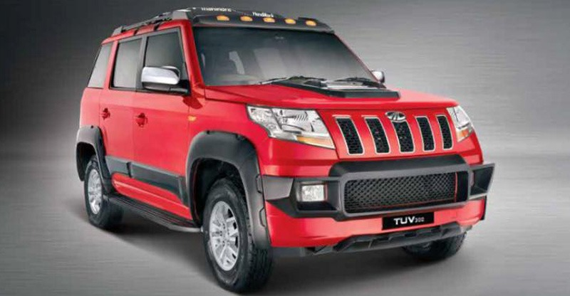 Mahindra Tuv300 Armour