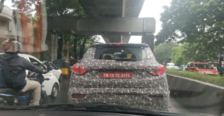 Mahindra S201 (XUV300) के अधिकारिक नाम की 1 दिसम्बर को होगी घोषणा: देखिये नयी खुफिया तस्वीरें