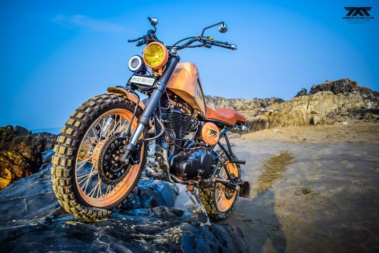 Maratha Motorcycles Leo Orange