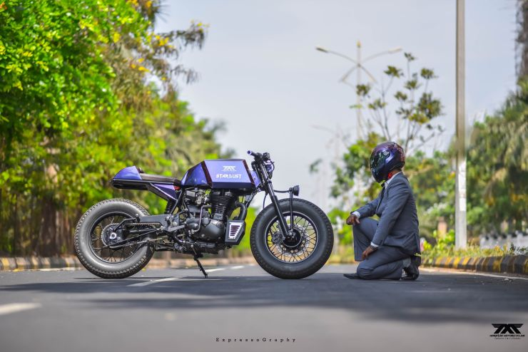 Maratha Motorcycles Stardust India