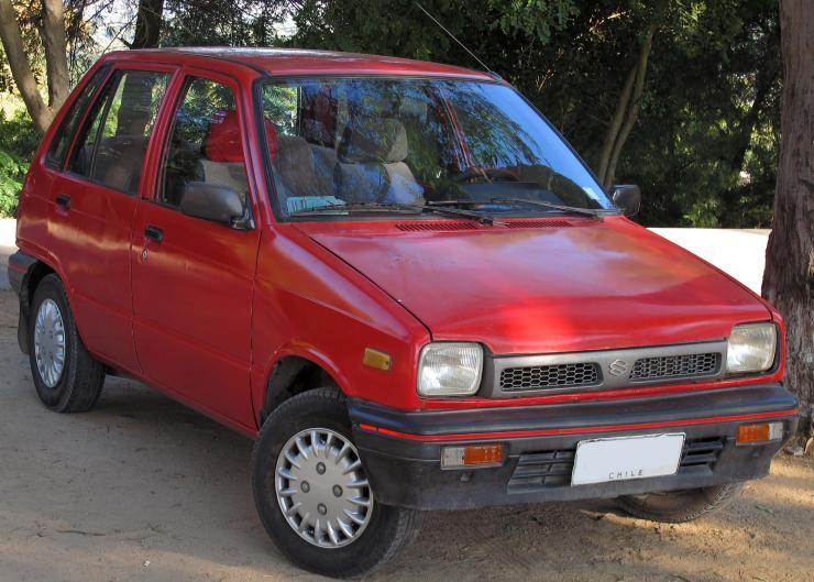 Maruti 800 Red