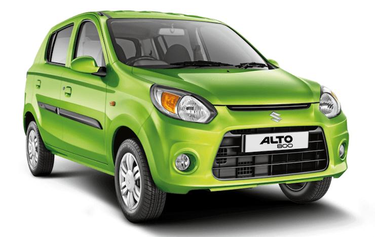 Maruti Alto 800 Green