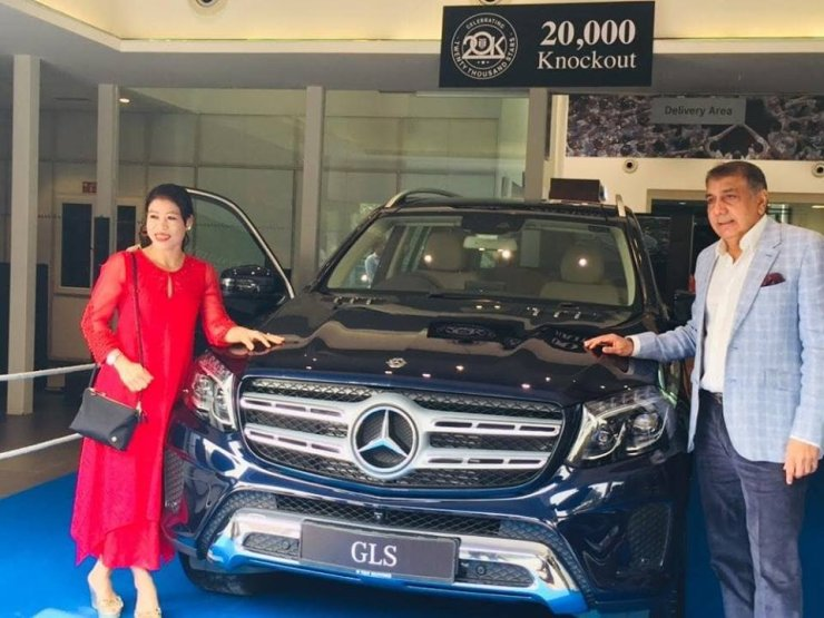 Mary Kom Mercedes Gls