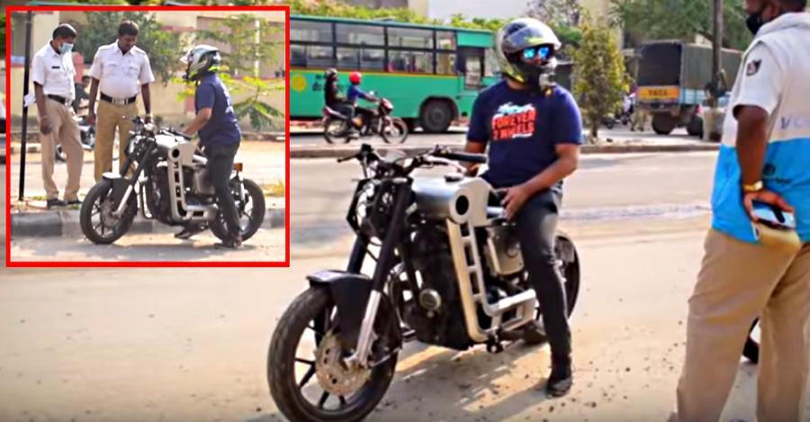 अगर आपके पास भी है एक मॉडिफाइड मोटरसाइकिल तो फिर इस देश में जिंदगी आपके लिए नहीं है आसान