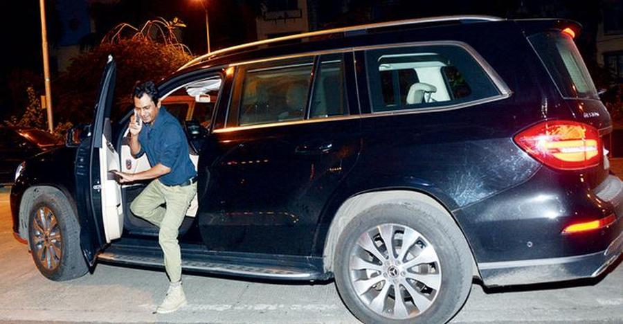 Nawazuddin Siddique With His Mercedes Benz