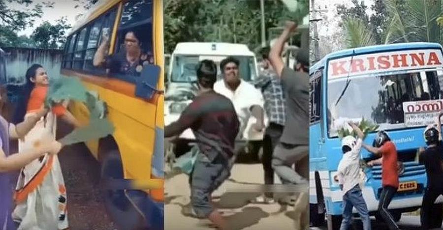 वायरल विडियो बनाने के लिए चलती कार के सामने कूद रहे हैं केरल के लोग: पुलिस ने ज़ारी की चेतावनी