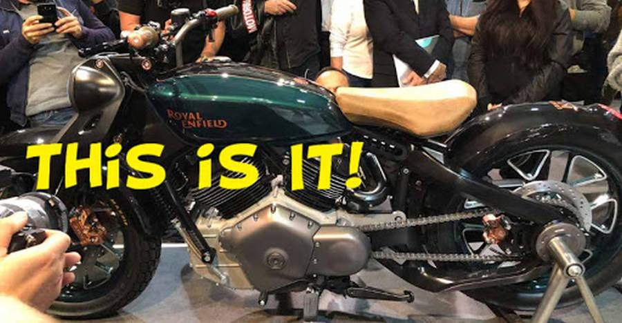 Royal Enfield Bobber Featured