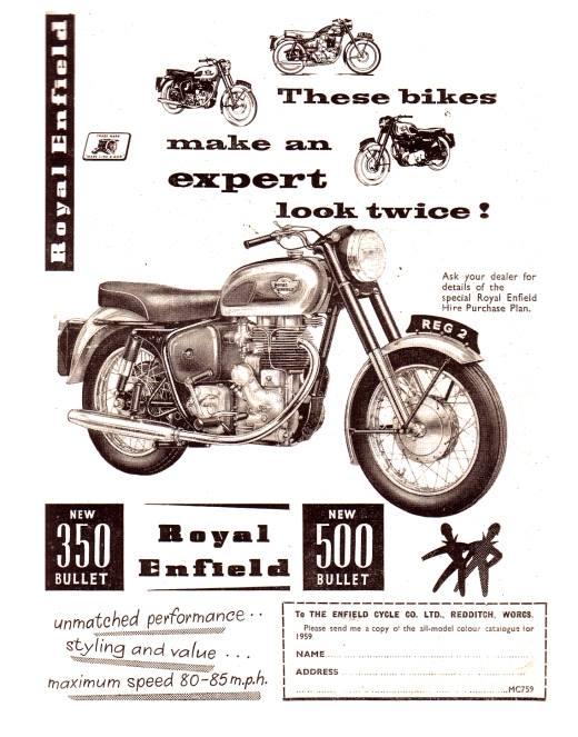 Royal Enfield Bullet International Ad