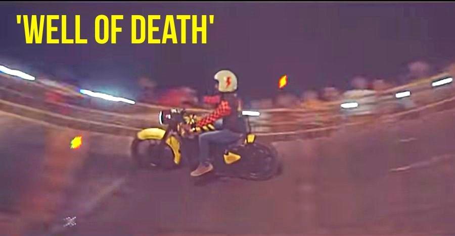 """गोवा में Rider Mania में चलेगा Royal Enfield का """"मौत का कुआँ"""" [वीडियो]"""