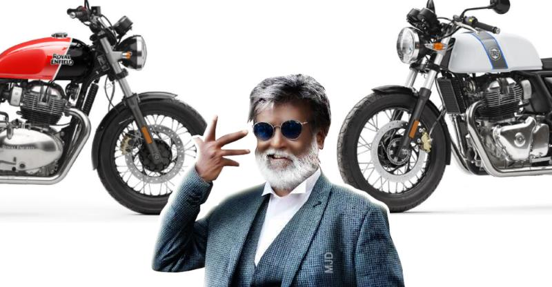 Royal Enfield Rajnikanth Featured
