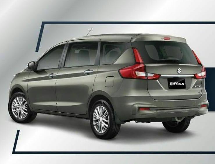 Suzuki Ertiga Silver