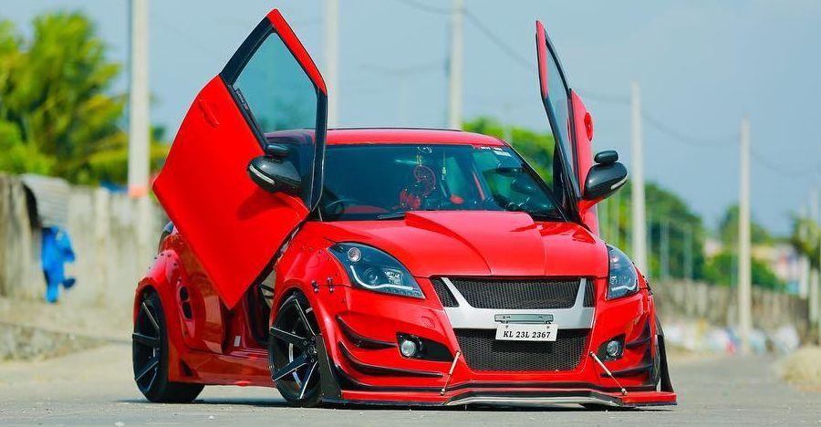 Maruti Swift से Hyundai Verna: तिरछे दरवाज़ों वाली ये 5 कार्स Lamborghini जैसी दिखती हैं!