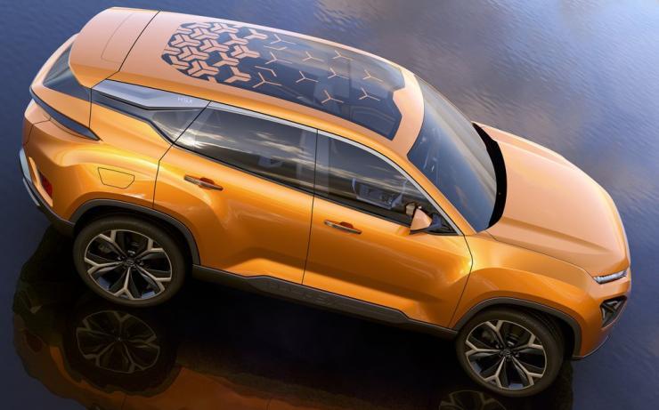 Tata H5x Suv Concept 3