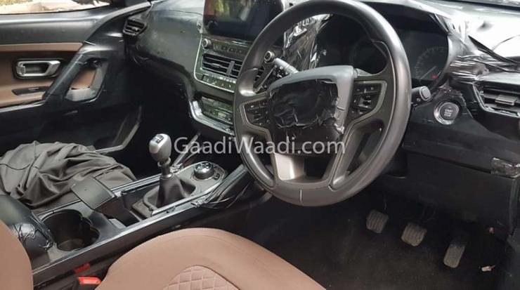 Tata Harrier Interiors