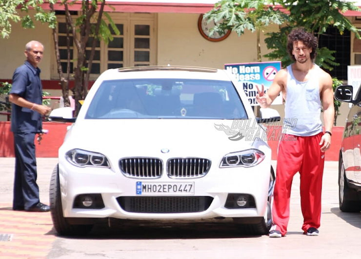 Tiger Shroff Bmw