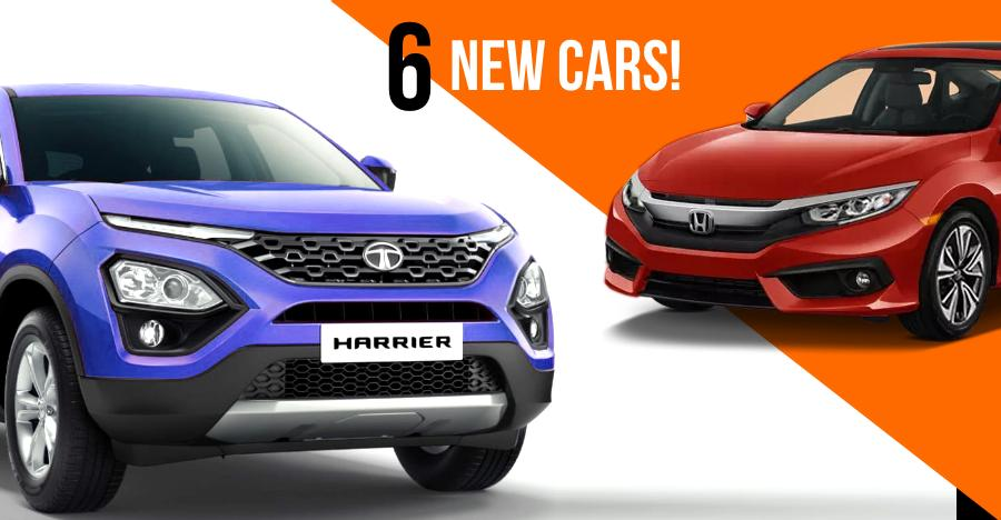 Upcoming Cars India Featured