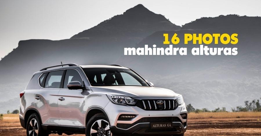 Mahindra Alturas G4 की खूबसूरत आधिकारिक तस्वीरों आयीं सामने