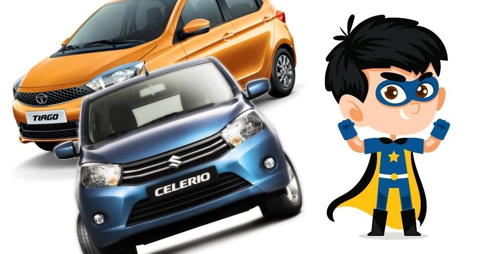 5 लाख रूपए से कम में उपलब्ध भारत की सबसे बेहतरीन माइलेज वाली कार्स