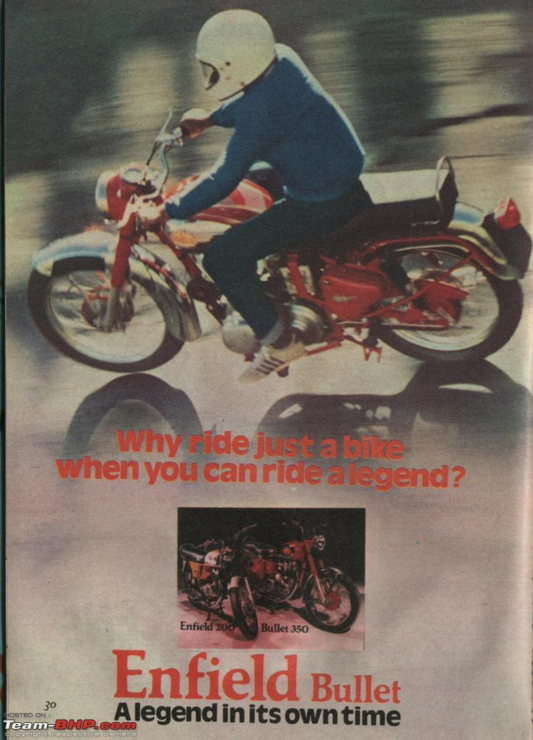 Enfield Bullet Ad
