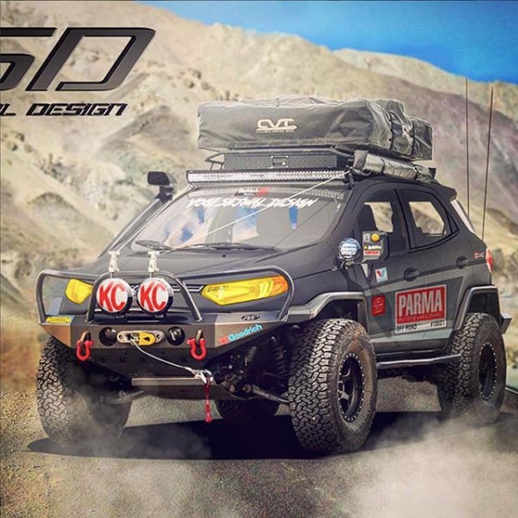 Ford Ecosport Off Road Render