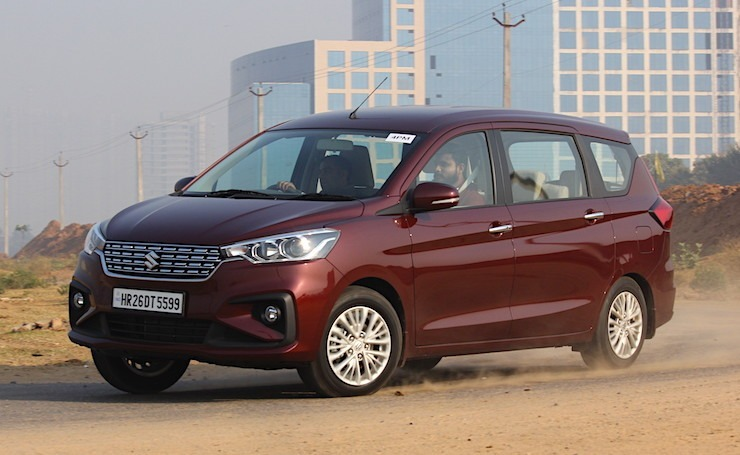 New Maruti Ertiga Featured