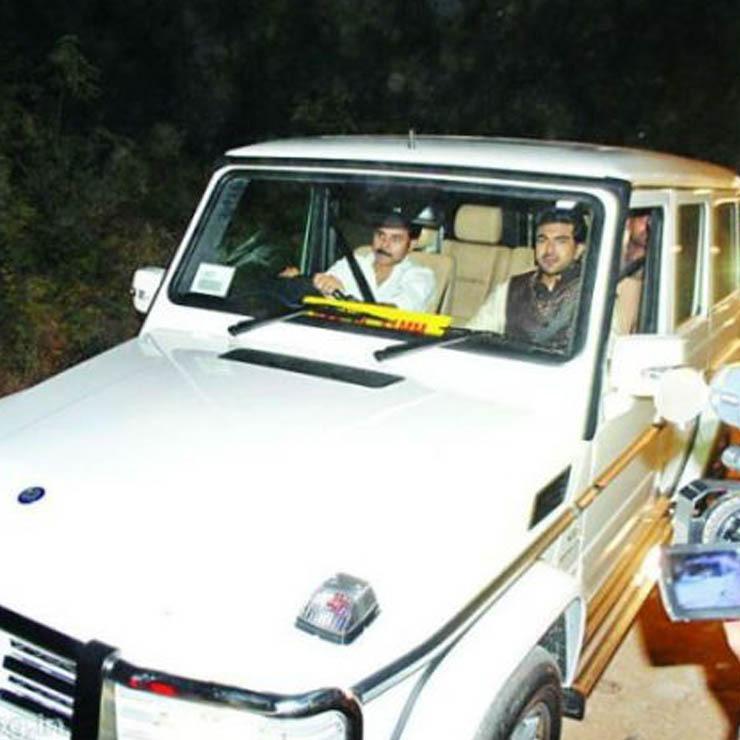 Pawan Kalyan Mercedes G63 Amg White