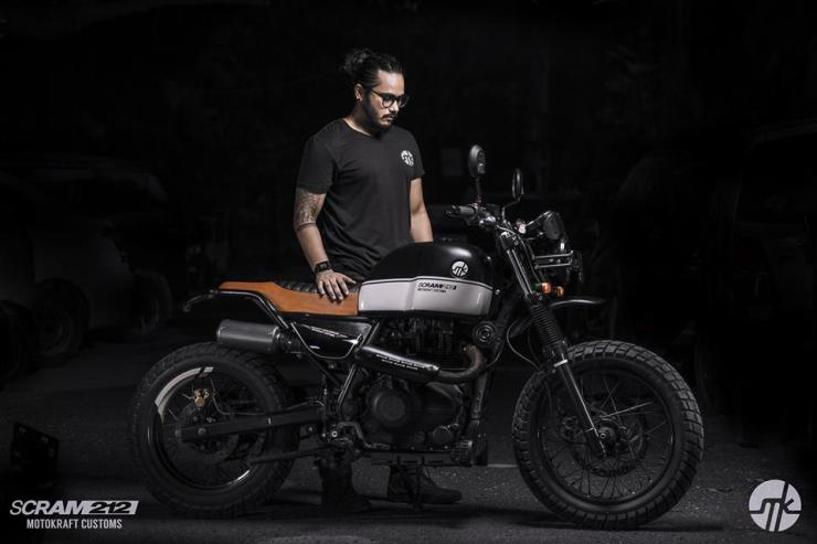 Royal Enfield Scram212 1