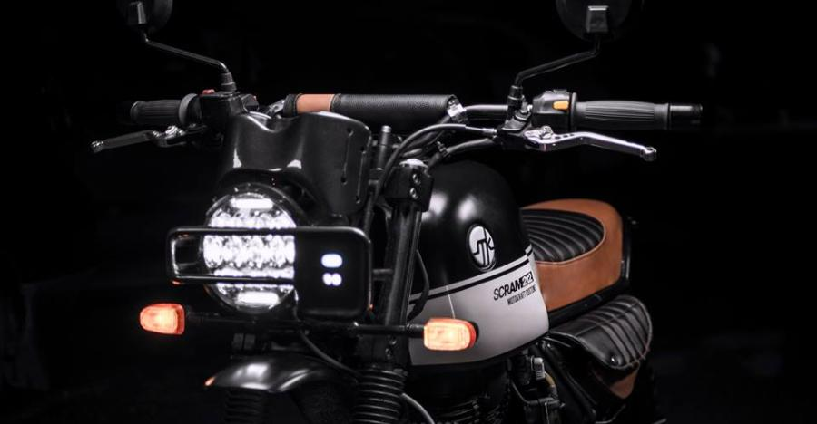Royal Enfield Scram212 Featured