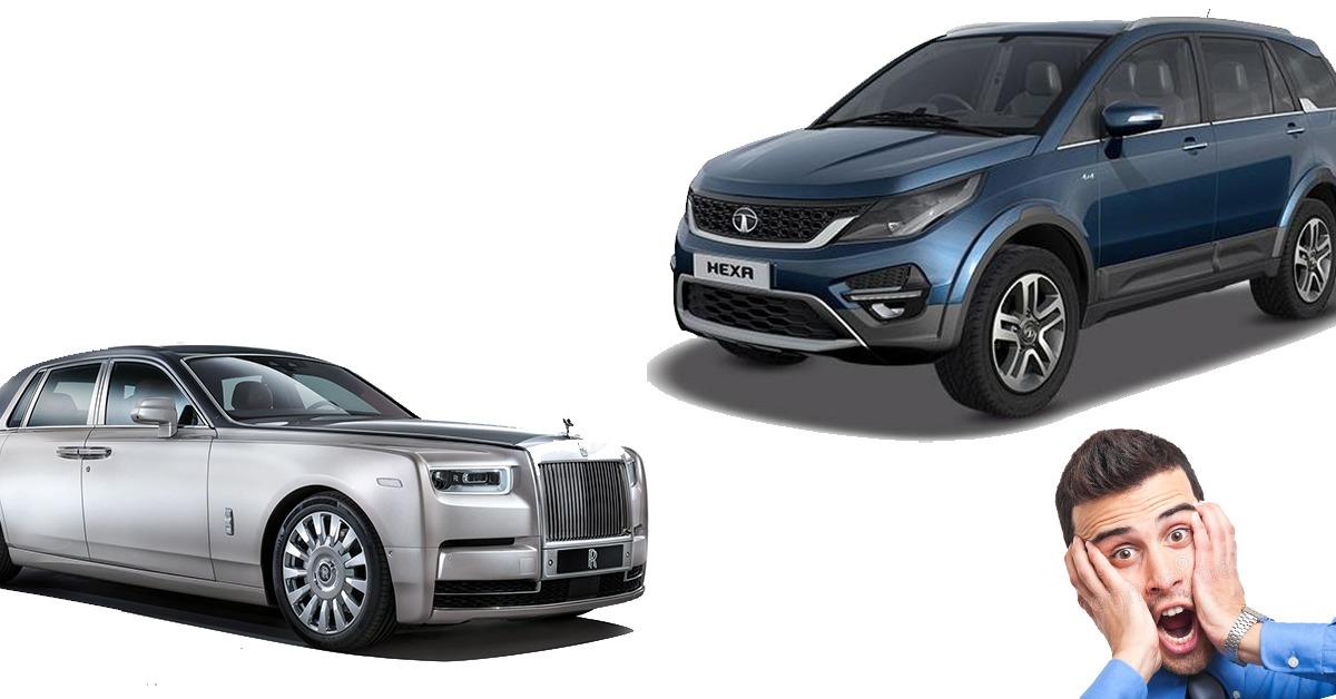 Rolls-Royce जैसी छत लगाकर कैसे इतराती है यह Tata Hexa