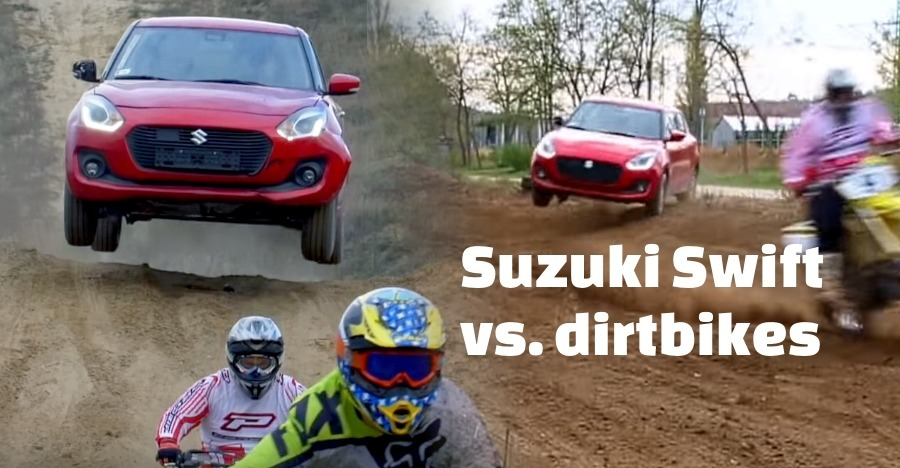 Swift Vs Dirt Bikes