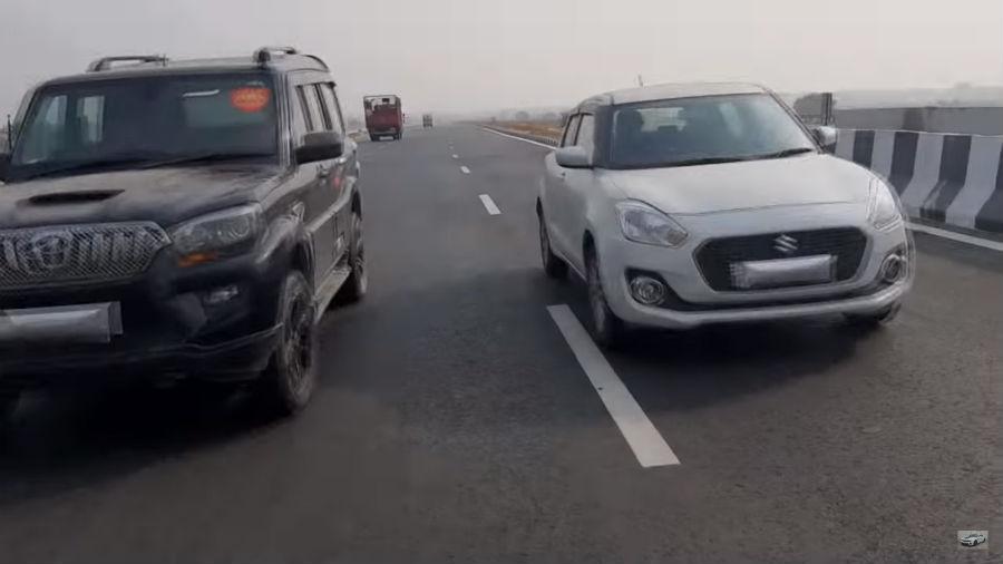 Maruti Suzuki Swift और Mahindra Scorpio के बीच रेस में कौन है विजेता?
