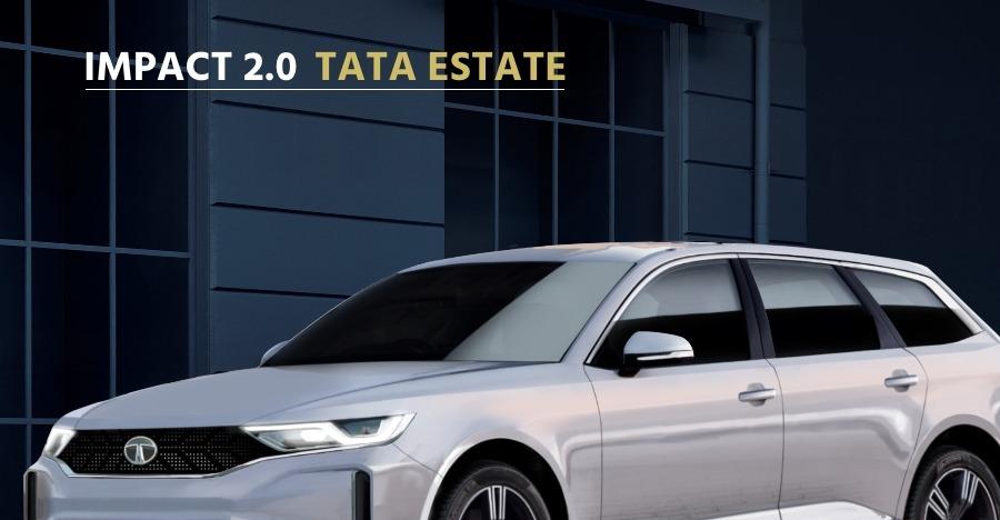 कुछ ऐसी दिख सकती है अगली-पीढ़ी की Tata Estate