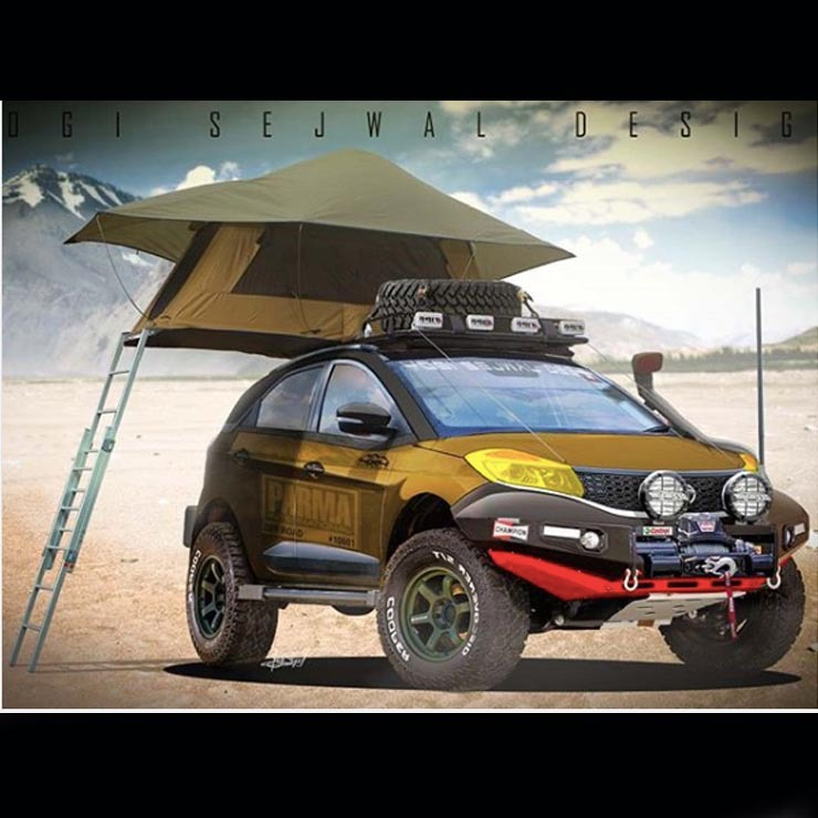 Tata Nexon Off Road Render