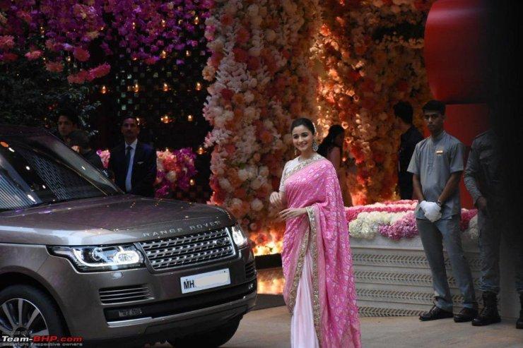 Alia Bhatt Range Rover