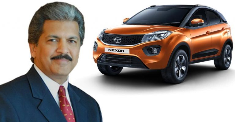 Anand Mahindra Tata Nexon Featured 1 768x399