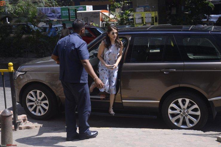 Anuskha Sharma Range Rover