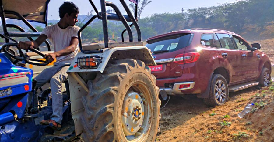 Ford Endeavour Tractor