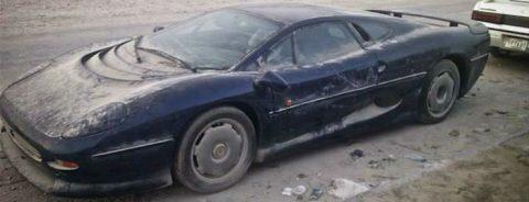 Jaguar Xj220 Rot