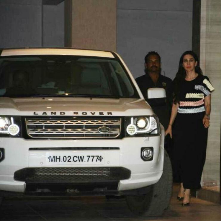 Karishma Kapoor Land Rover