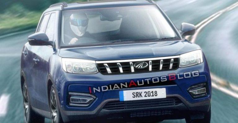 कुछ ऐसा दिखेगा Maruti Brezza को टक्कर देने वाली Mahindra Inferno SUV का ऑन-रोड संस्करण