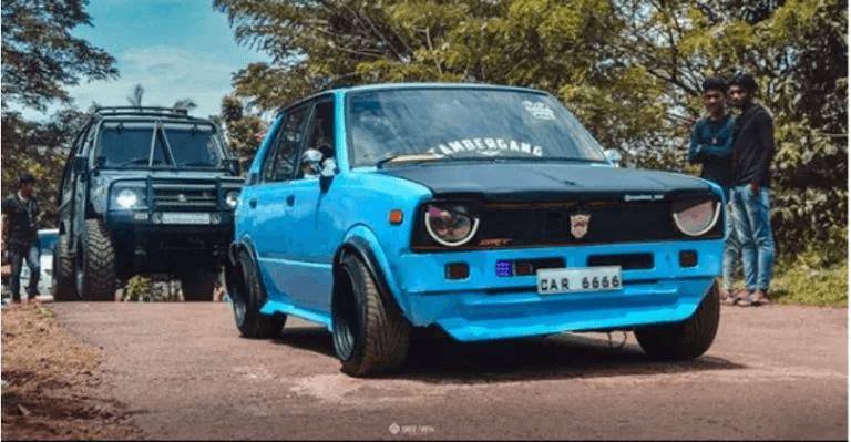 पहले जनरेशन वाली Maruti Suzuki 800 का मॉडिफाइड वर्शन!