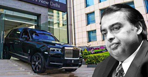 Mukesh Ambani Cullinan Featured