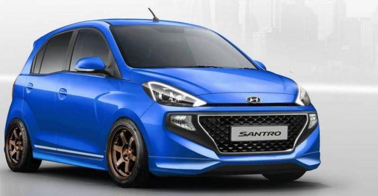 नयी Hyundai Santro का लो-राइडर वर्शन कुछ ऐसा दिख सकता है!