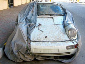 Porsche 964 Rot