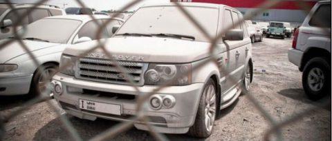 Range Rover Rot