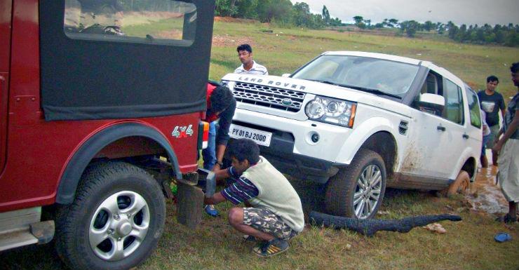 Thar Land Rover Pull 2