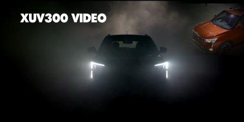 नई Mahindra XUV300 SUV का पहला टेलीविज़न विज्ञापन आया सामने