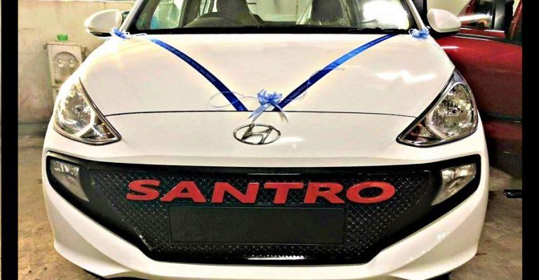 नई Hyundai Santro के लिए पहली कस्टम एक्सेसरीज़ बाज़ार में उपलब्ध!