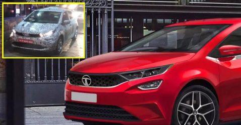 Maruti Baleno को टक्कर देने वाली Tata 45X को टेस्टिंग के दौरान विडियो में कैद किया गया!