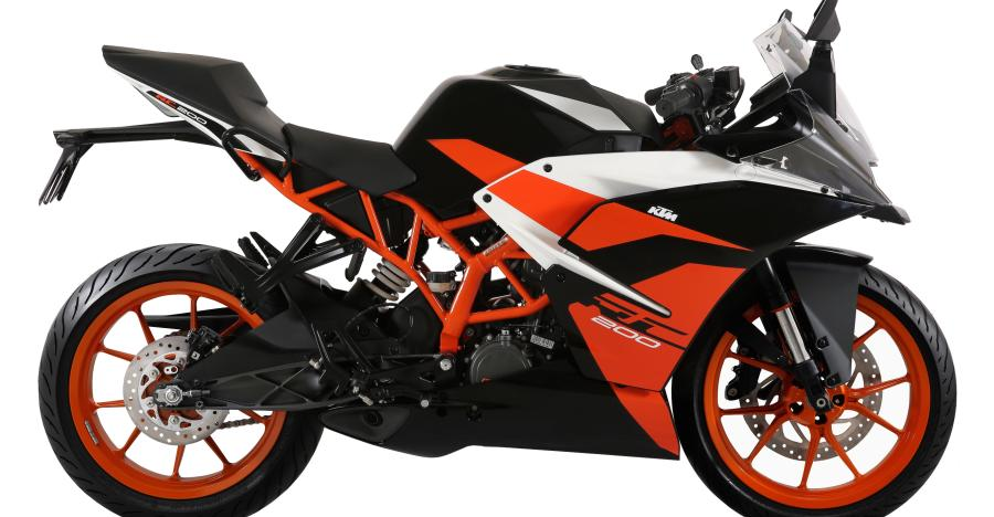 2018 Ktm Rc200 In Black Featured